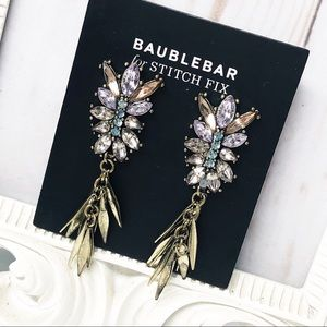 BaubleBar • Tassel Chandelier Statement Earrings